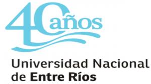 Logo 40 años UNER