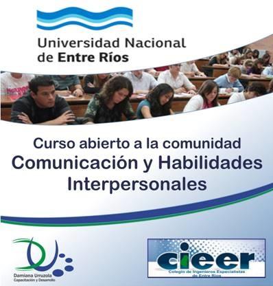 Flyer Curso de Comunicación y Habilidades Interpersonales