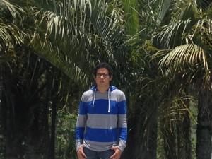 El estudiante Omar López