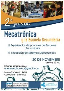 Afiche Jornadas Mecatrónicas